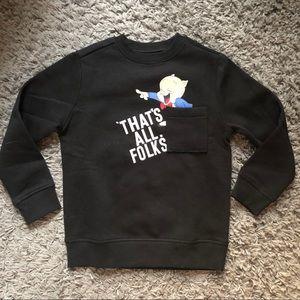 Zara x Warner Bros porky pig sweater